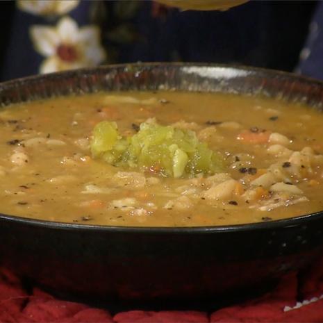 Bean w/ Bacon Soup (Instant Pot)