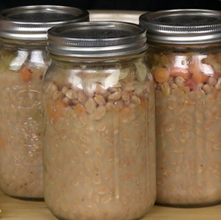 Bean w/ Bacon Soup -Canning
