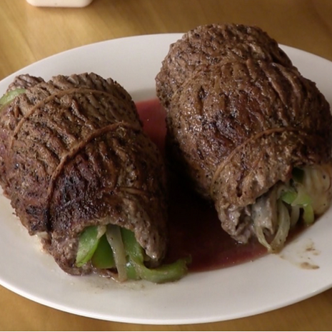 Philly Cheesesteak (Rolled)