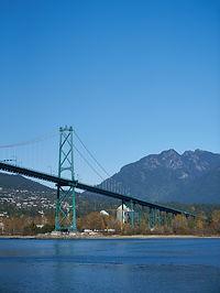 Golden Lion Bridge Vancouver