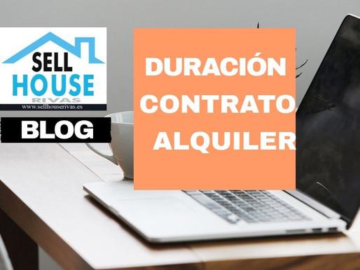 DURACIÓN DEL CONTRATO DE ALQUILER