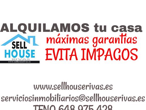 Ajustar el precio del alquiler. Beneficios. Sell House Rivas