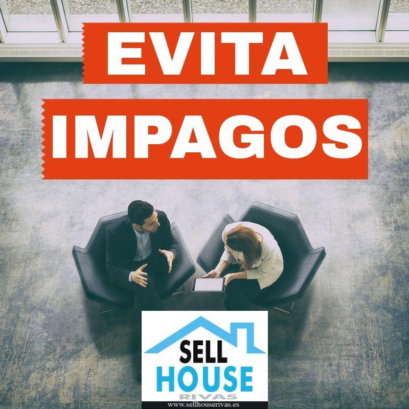 EVITA IMPAGOS. SELL HOUSE RIVAS. INMOBILIARIA ALQUILER