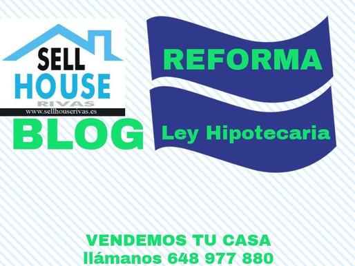 Reforma de  la Ley Hipotecaria 2019
