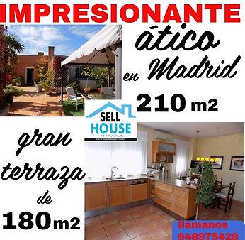 comprar atico en madrid. sell house riva