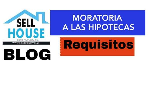 Moratoria en el pago de hipotecas. Covid 19