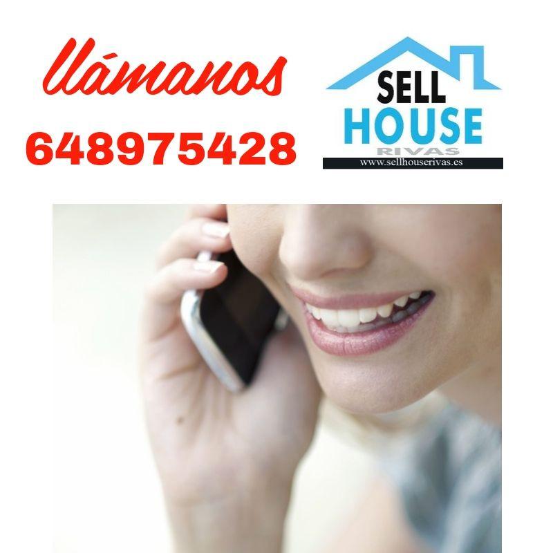 Inmobiliaria sell house rivas. teléfono