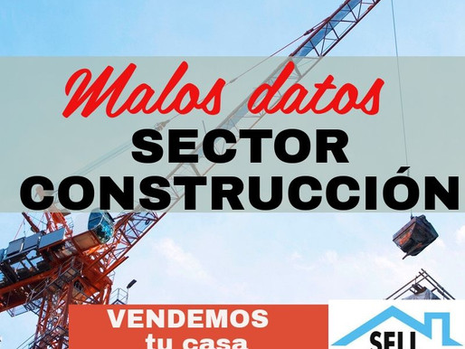 Retroceso en el sector inmobiliario 2019. BLOG SELL HOUSE RIVAS