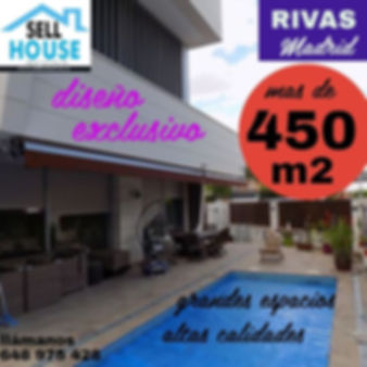 chalet lujo en Rivas. Sell house rivas
