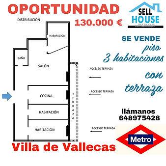 piso villa de vallecas.sellhouserivas.es