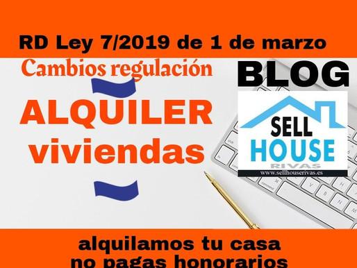 Real Decreto alquiler vivienda 2019. Duración del contrato y sus prórrogas.