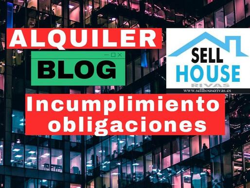 ALQUILER. Incumplimiento de obligaciones