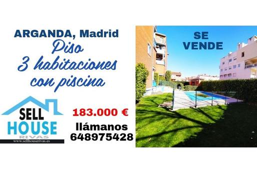 Piso en Arganda, zona Los Villares. Sell House Rivas