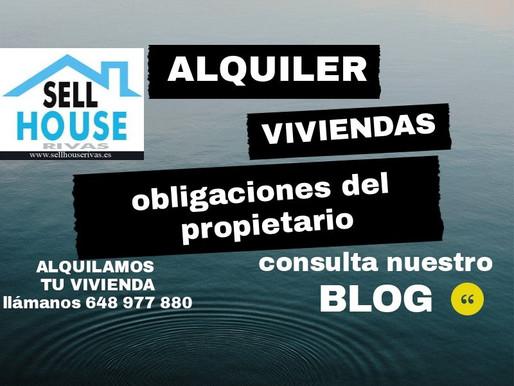 ALQUILER   DE   VIVIENDAS   :   OBLIGACIONES  DEL    PROPIETARIO