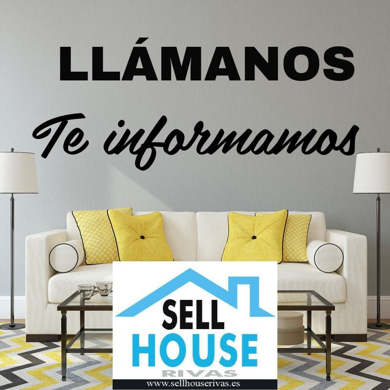 SELL HOUSE RIVAS. ALQUILER SIN COSTE