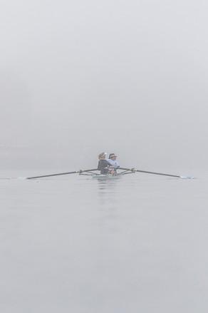 Sortie sous le brouillard