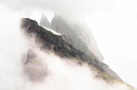 Seceda, Dolomites, Italie