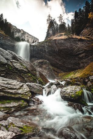 Cascades de la Pleureuse et de la Sauffaz, vallée du Giffre