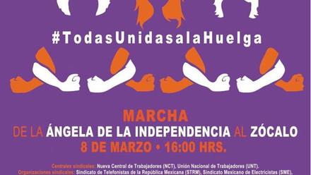 8M. Día Internacional de la Mujer ¡ORGANIZACIÓN, UNIDAD Y RESISTENCIA! LAS MUJERES PARAMOS EL MUNDO