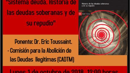 Conferencia Magistral de Eric Toussaint en la UNAM
