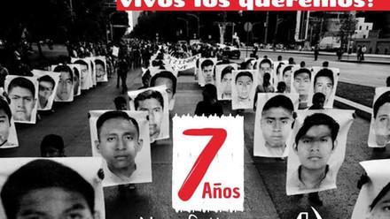 Presentación con vida, verdad y justicia para los 43 normalistas desaparecidos de Ayotzinapa