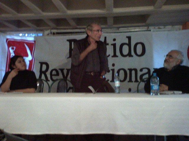Daniel Bensaid en el PRT