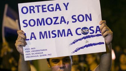 ¡Fuera el gobierno criminal Ortega-Murillo de Nicaragua!