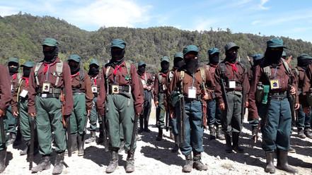 Llaman zapatistas a accionar juntas contra la violencia