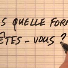 2010-11 «Dans quelle forme êtes-vous ?» Nils de Coster / Voix Narratrice