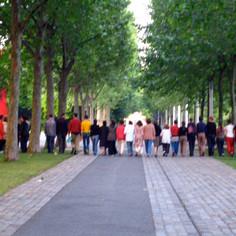2003-06 «Infiltration 3» Marie Reinert/ Collaboration, performance.