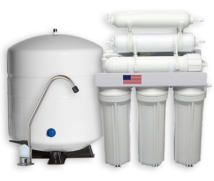 Alkaline 6 Stage High Efficiency Pro Series Reverse Osmosis System