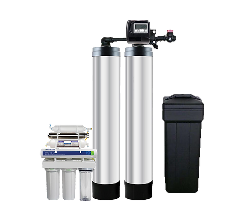 Twin Advanced Softener with RO