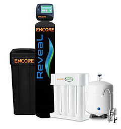 Encore Reveal All in One Softener + Whole Home Filtration, Reverse Osmosis, Purified Water, Google Water Softeners