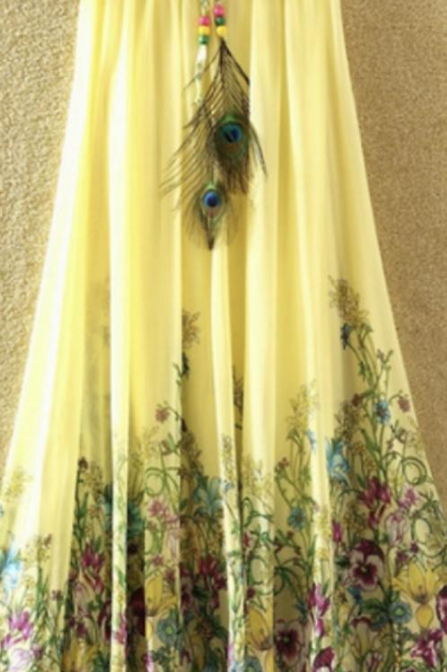 Summer Bohemian Skirt