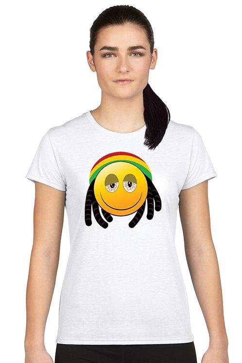 Women's Juniors T Shirt African 420 Face