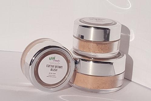 Vegan Blush Makeup | Earthy Brown | Raw Beauty Minerals