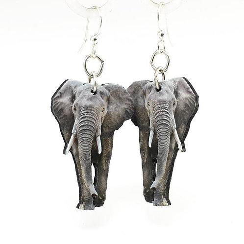 African Elephant Earrings #1532