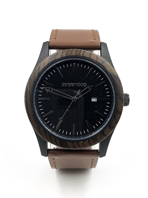 Inverness | Walnut | Brown Leather