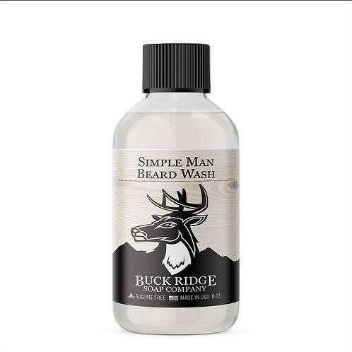 Simple Man Beard Wash