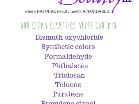 Raw Beauty Products!
