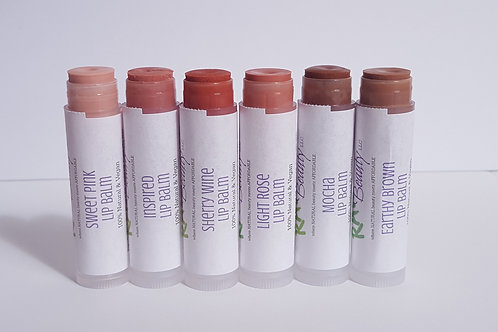 Tinted Lip Balm | Natural Tint Lip Chap | Raw Beauty Minerals