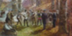 Gemälde einer Mensur