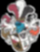 Wappen der L! Cimbria et Rhenania Friedberg