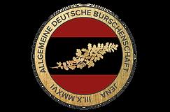 Bandknopf der Allgemeinen Deutschen Burschenschaft