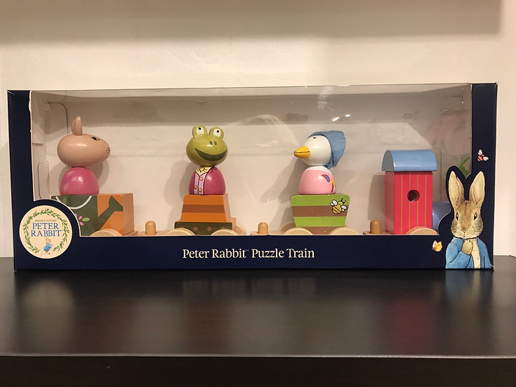Peter Rabbit Puzzle Train