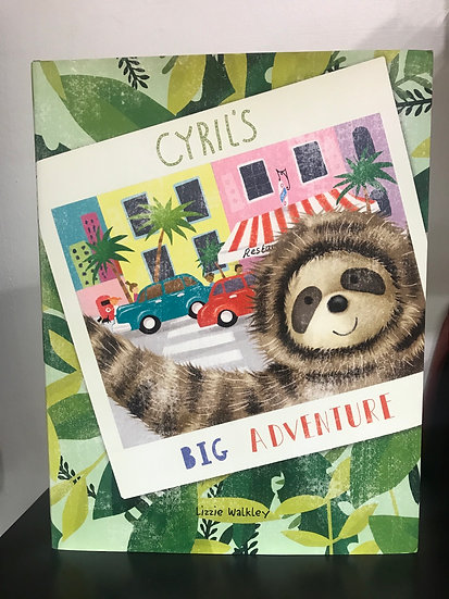 Book - Cyril's Big Adventure