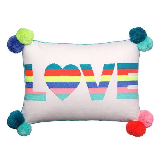 Bombay duck Love Cushion