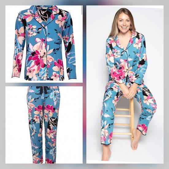 Cyberjammies - Turquoise Floral Pyjamas