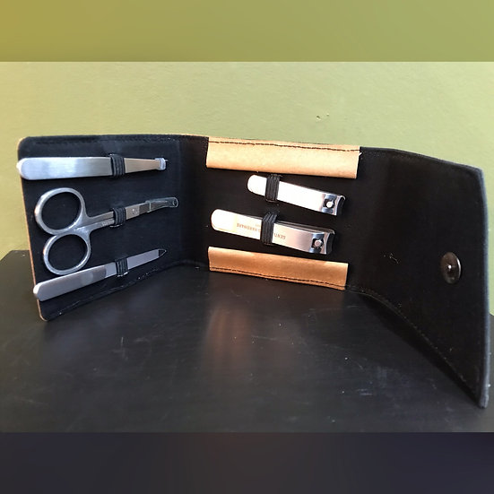 Recycled Leather Fibre Manicure Kit