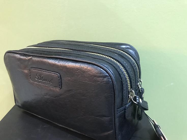 Ashwood Leather Wash Bag